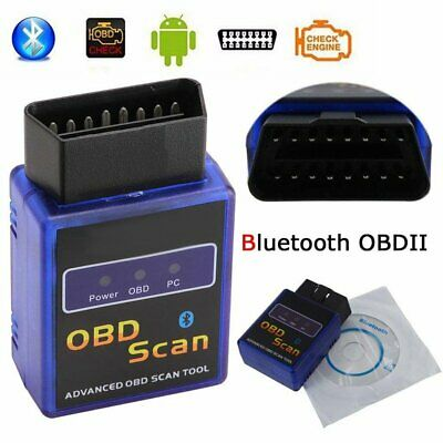 AU20.80 • Buy ELM327 ODB ODB2 Advanced Bluetooth Car Auto Diagnostic Scanner Tool For Android