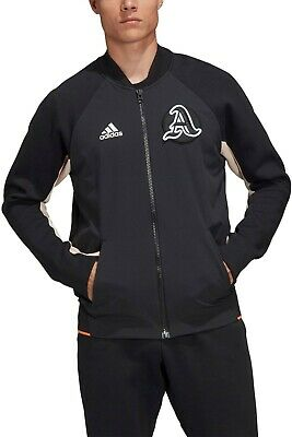 Arsenal Player Issue Adidas Black Vrct Zip Up Jacket Medium Bnwt • 69.99£