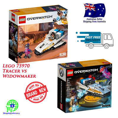 AU32.89 • Buy Lego 75970 OVERWATCH Tracer Vs Widowmaker Age 8+ NEW & SEALED (Retired Product)