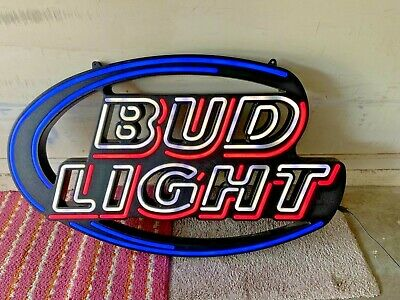 $ CDN358.44 • Buy Vintage Bud Light &  Budweiser Select Neon Signs Lot
