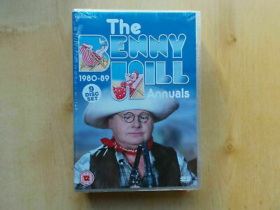 The Benny Hill Annuals 1980-89 Dvd Box Set New & Sealed • 32.99£