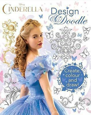 Disney Cinderella Design & Doodle, Parragon Books Ltd, Excellent Book • 7.79£