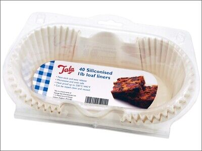 Tala Loaf Liner Siliconised 1lb X 40 10A05201 • 10.50£