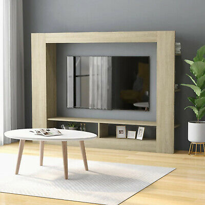 £87.80 • Buy Large TV Unit Modern Lounge Display Cabinet Wall Mounted Storage Media Stand NEW
