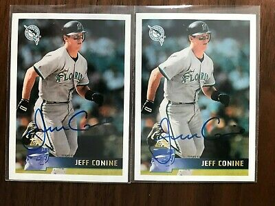 $ CDN8.81 • Buy Jeff Conine 2016 Topps Archives Anniversary On Card Auto Lot 2 Green Back /99