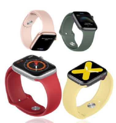 AU7.59 • Buy For Apple Watch IWatch Band Series SE 6 5 4 3 2 1 Sports Silicone Bracelet Strap