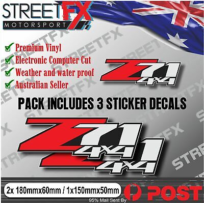 AU29.95 • Buy Colorado Z71 4x4 Offroad Sticker Decal Set For Holden MY17 MY18 MY19 Trailblazer