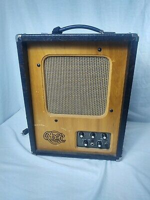 $ CDN247.42 • Buy Rare Vintage Rock Amps Petros 1 Guitar Amplifier Combo Amp Tested Working