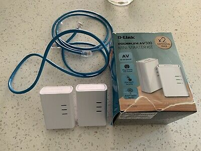 AU50 • Buy D-Link DHP-309AV PowerLine AV 500 Mini Adapter Starter Kit