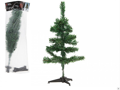 45cm Artificial Mini Christmas Tree Green Small Table Top Xmas Pine With Stand • 3.99£