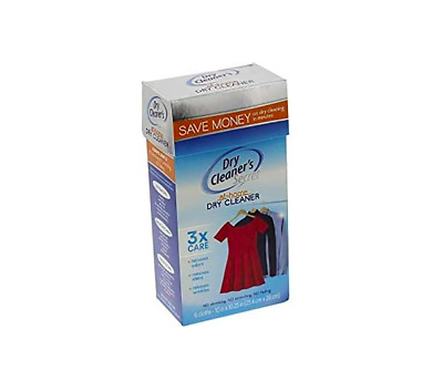 Dry Cleaners Secret 6 Sheets The Original Dry Clean At Home Gentle Stain Removal • 21.99£