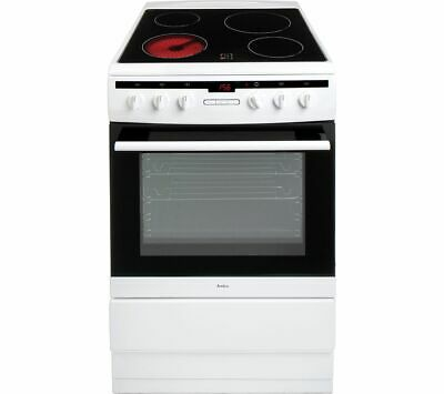 £300 • Buy AMICA 608CE2TAW 60 Cm Electric Ceramic Cooker - White - Currys