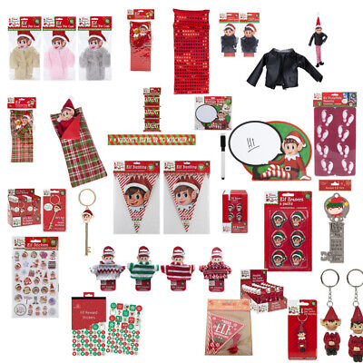 £2.49 • Buy Elf Accessories Props Stock On The Shelf Ideas Kit Christmas Games Elf Clothes