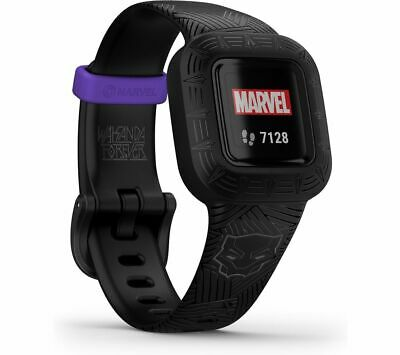 View Details GARMIN Vivofit Jr. 3 Kid's Activity Tracker Marvel Black Panther Adjustable Band • 79.99£
