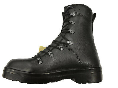 $103.07 • Buy German Army Para Boots Genuine Military Surplus Combat Leather Black *New*