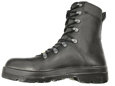 $96.19 • Buy German Army Para Boots Genuine Military Surplus Combat Leather Black *Nearly New