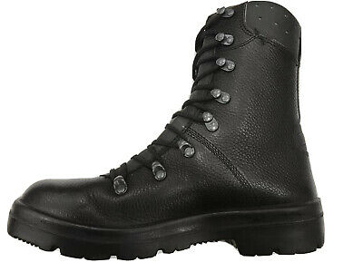 $82.44 • Buy German Army Para Boots Genuine Military Combat Leather Black *Superior Grade*
