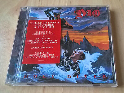 DIO - HOLY DIVER - COLLECTOR'S EDITION CD (+ INTERVIEW) (EX. Cond.) • 7.80£