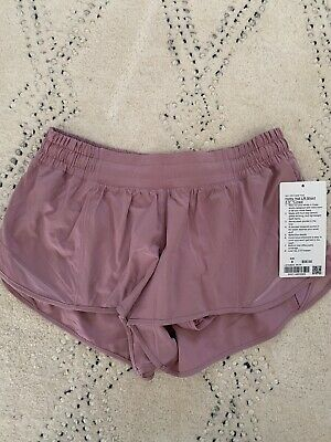"$ CDN73.43 • Buy NWT Sold-Out  Pink Taupe  Hotty Hot Shorts Sz 8 Lined Lululemon Women 2.5"" LR"