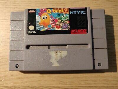 $ CDN30.95 • Buy Q*Bert 3 [Qbert] (Super Nintendo SNES) [Loose Cartridge Only]