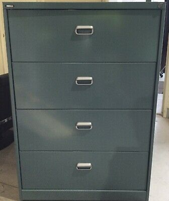 AU349.95 • Buy Namco Lateral 4 Drawer Filling Cabinet   1135mm T & 915mm W   Great Condition