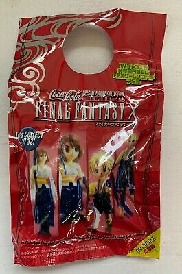 £7.95 • Buy Final Fantasy X Coca Cola Promotional Blind Bag 2001 Japan Exclusive - Brand New