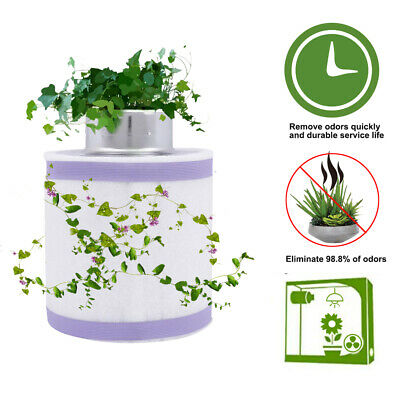 AU105 • Buy Grow Tent Kit 6  Hydroponics Ventilation Kit Fan Activated Carbon Filter AU