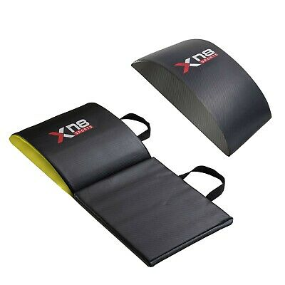 XN8 Ab Pad Sit Up Abdominal Stomach Workout Cushion Gym Mat Fitness Exercise UK • 16.99£