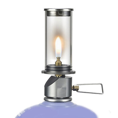 £13.88 • Buy Candle Lamp Portable Hanging Burner Outdoor Camping Gas Light Wondrous