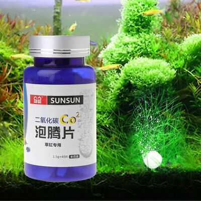£10.73 • Buy Aquarium CO2 Carbon Dioxide Tablets For Plants Fish Tank Ive Water Grass CO2