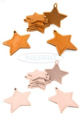 £3.99 • Buy Star Balloon Weights For Helium Balloons - Multipack - Rose Gold & Baby Pink
