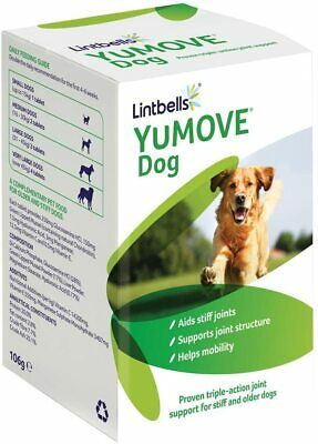 Lintbells YuMOVE Supplement For Stiff Dogs Aged 7 To 8, 120 Tablets  • 24£