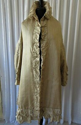 £217.43 • Buy ANTIQUE 1920's  FRENCH SILK OPERA COAT/CAPE MUSEUM QUALITY....COLLECTOR/STUDY