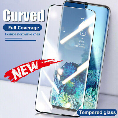 $ CDN3.44 • Buy 9H Full Cover Tempered Glass Screen Protector For Samsung Note 20 Ultra S20 S10