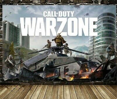 £12.24 • Buy Call Of Duty Warzone Game Poster Canvas Anime COD Bedroom Decorative Painting