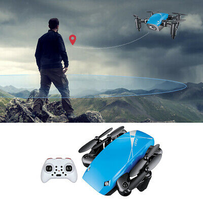 AU31.41 • Buy Mini Drone Foldable Pocket Quadcopter For Kids Beginners Blue