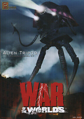 NEW 1:144 Pegasus Hobbies 9005 War Of The Worlds Alien Tripod Model  (2005 Film) • 94.99£
