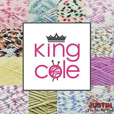 KING COLE YUMMY Chunky Yarn Super Soft Knitting  Baby Wool 100g • 4.25£