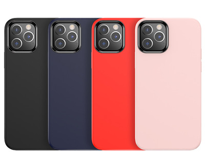 AU5.99 • Buy Silicone Case For IPhone 12 Mini 11 Pro Max X XS XR 8 7 SE Protection Gel Rubber