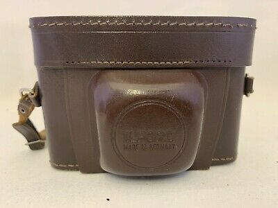 Vintage ILFORD Sportsman 35mm Compact Camera Cassar F:/2.8 45mm Lens! Working • 25£
