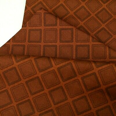 Clothworks Diggers & Dozers Brown Color 100% Cotton Quilting Craft Fabric • 6.99£