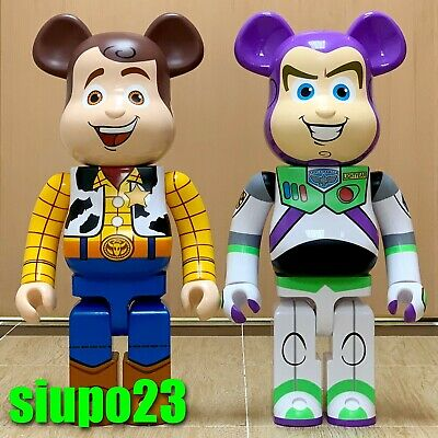 $5999.99 • Buy Medicom 1000% Bearbrick ~ Disney Pixar Toy Story Be@rbrick Woody & Buzz 2p