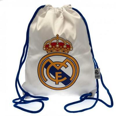 £12.99 • Buy Official REAL MADRID FC Gym BAG School Sports Gift