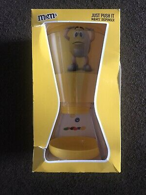 Kids Sweet Chocolate Dispenser For M&M's Yellow 10  Size Christmas Gift • 14.99£