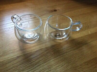 Set Of 2 Double Walled Judge Espresso Glasses • 9.50£