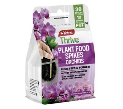 AU19.40 • Buy Yates Thrive 27g Plant Food Spikes Orchids