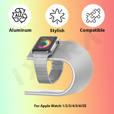 AU18.99 • Buy For Apple Watch Iwatch 1 2 3 4 5 6 SE Holder Stand Charging Dock Aluminum