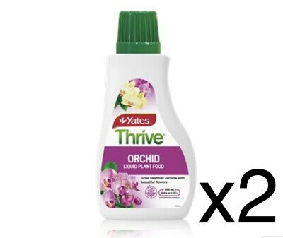 AU44 • Buy 2 X Yates 500ml Thrive Orchid Liquid Plant Food Concentrate