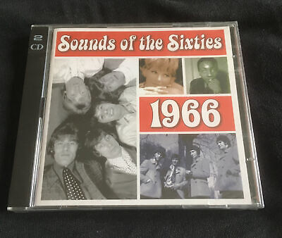 **NEW FACTORY SEALED** Time Life - Sound Of The Sixties - 1966 - 2 CD Set • 11.99£