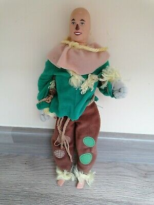 Vintage Scarecrow Wizard Of Oz 1975 Model Articulated Doll NO Hat 💖12 Ins • 11.99£